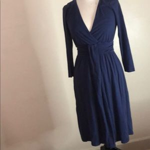 Knit Navy dress